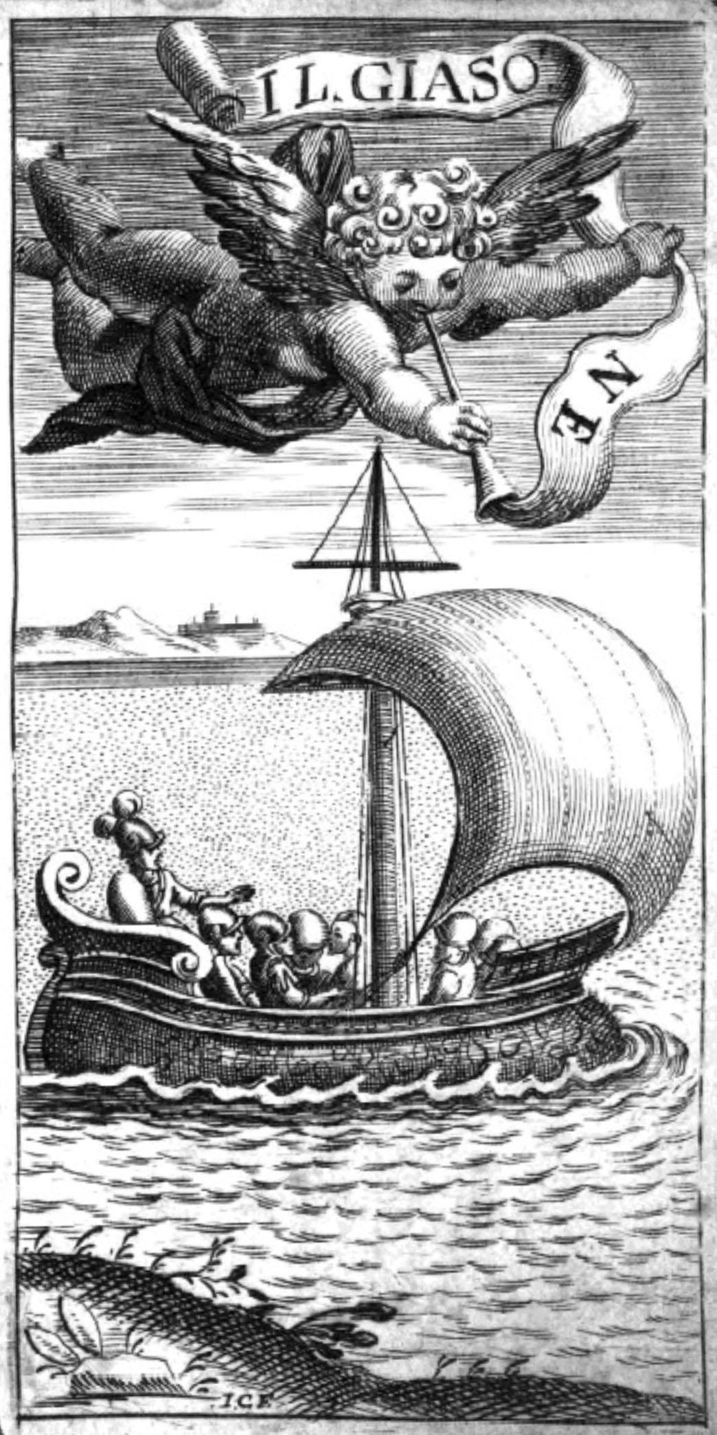 Antiporta della prima edizione del libretto del